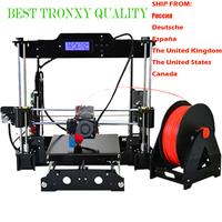 Auto Level 3D Printer Newest 3D Prusa EI3 DIY Kits Automatic Leveling Aluminium Extrusion Free 2