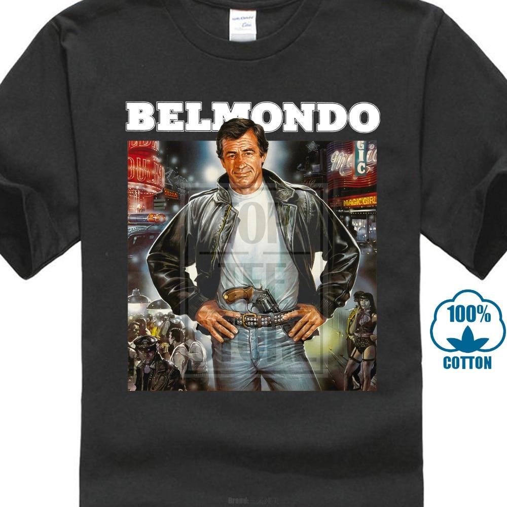 Belmondo Homme Funny T Shirts Hip Hop Clothing Tshirt Sexy Girl Tshirts Brand T-Shirt Men Clothing 2019
