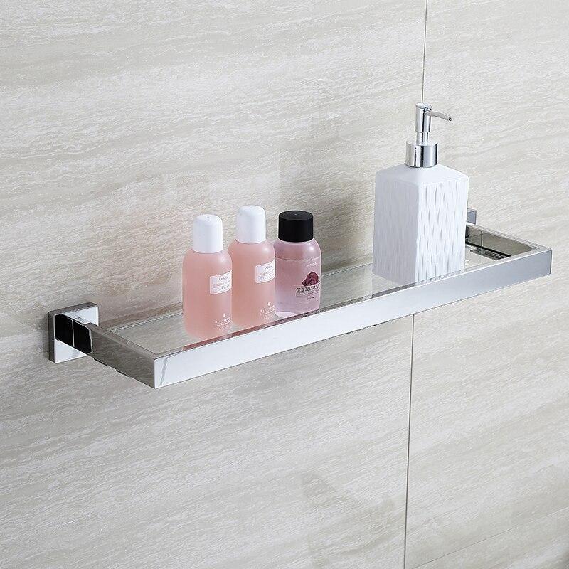 BLHTZ05 Glas Badkamer Planken Shampoo Houder Rvs Plank voor ...