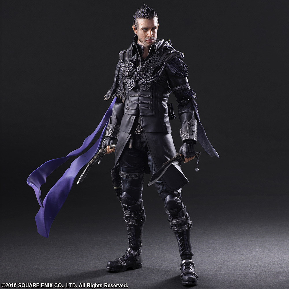 NEW hot 26cm Final Fantasy Nyx Ulric action figure toys collector Christmas gift doll with box new hot 11cm one piece vinsmoke reiju sanji yonji niji action figure toys christmas gift toy doll with box