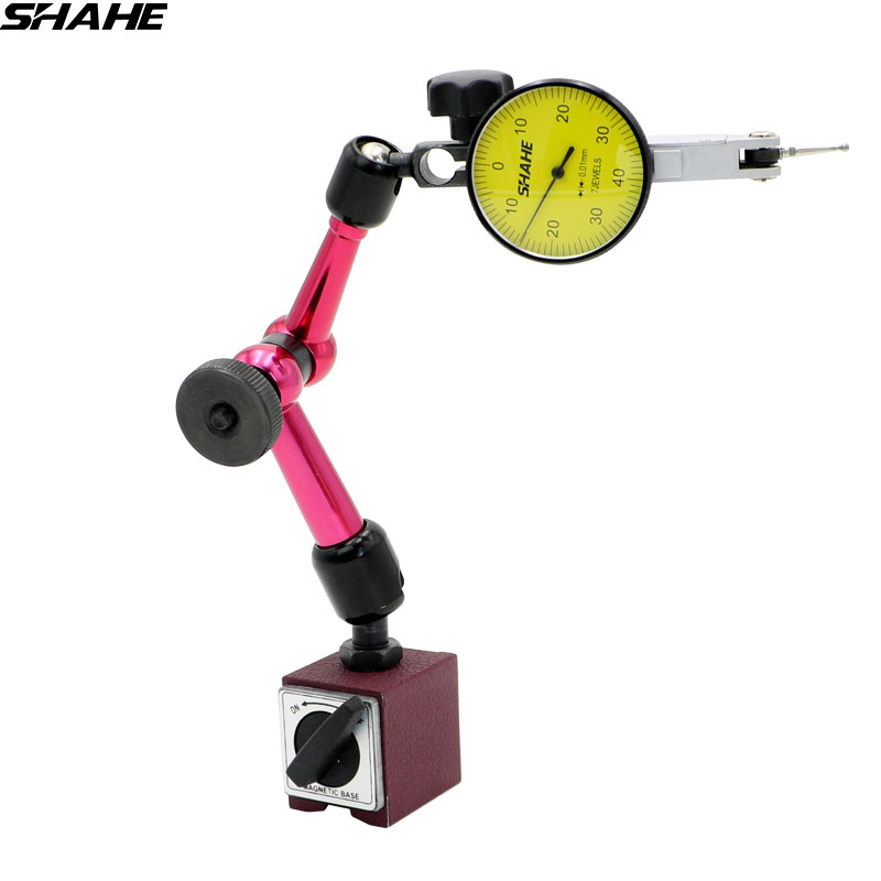 shahe Mini Universal Flexible stand Magnetic Base Holder Stand WITH Dial Test Indicator 0 0 8