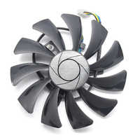 85 millimetri 4pin HA9010H12SF-Z RX460 4 GB dispositivo di Raffreddamento del Ventilatore Sostituire per MSI Inno3D P106 960 GeForce GTX 1060 AERO ITX 3G 6G OC RX560 RX550 ITX