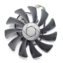 85mm 4pin HA9010H12SF-Z RX460 4GB Cooler Fan Replace for MSI Inno3D P106 960 GeForce GTX 1060 AERO ITX 3G 6G OC RX560 RX550 ITX(China)