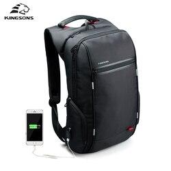 Kingsons brand 15 6 men laptop backpack external usb charge antitheft computer backpacks male waterproof bags.jpg 250x250