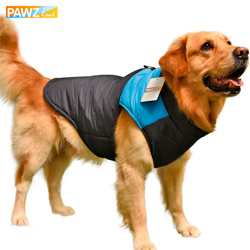 PAWZRoad سگ لباس سگ لباس زمستانی سگ بزرگ لباس جلیقه سگ جلیقه جلیقه برای حیوانات اهلی لباس برای حیوانات اهلی حیوان خانگی بزرگ 3XL-7XL داغ