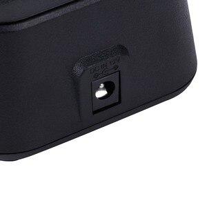 Image 4 - YIDATON 1 PZ Nero Palmare Radio Caricabatteria per Walkie Talkie Hytera PD700 PD780 Caricatore Due Accessori Radio Bidirezionale