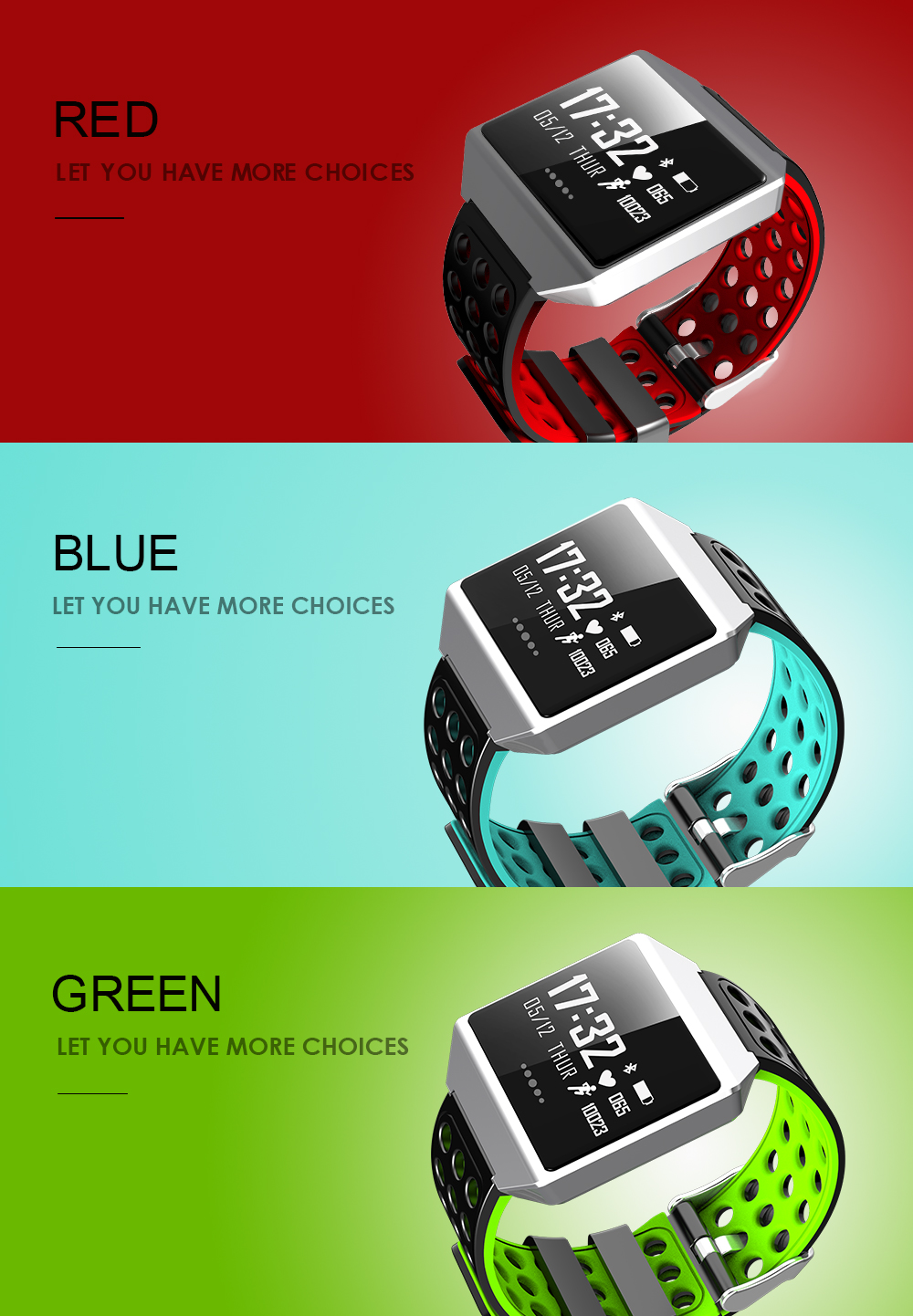 MOCRUX CK12 Smartwatch IP67 Waterproof Wearable Device Bluetooth Pedometer Heart Rate Monitor Smart Watch For AndroidIOS (4)