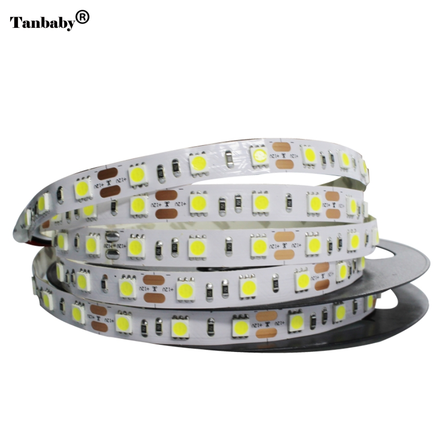 Tanbaby 5050 led strip DC12V 300led 60 leds/m Flexible Light 5M/lot Warm White,White,Blue,Green,Red,Yellow,RGB color