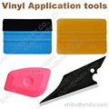 portable 3m felt squeegee gold mini pink squeegee fish shape scraper car covers vinyl wrapping styling cleaning hand tools AT007