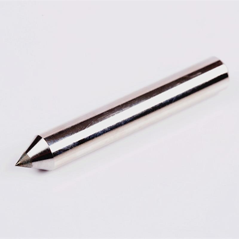 3db / tétel fémgravírozó fogófej 60 fokos csúccsal, 8 mm-es - Elektromos szerszám kiegészítők - Fénykép 3