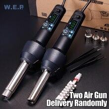 WEP 8858-I 700W Hot Air Gun Portable BGA Solder Rework Station Heat Gun Hair Dryer 8858 Upgraded Version