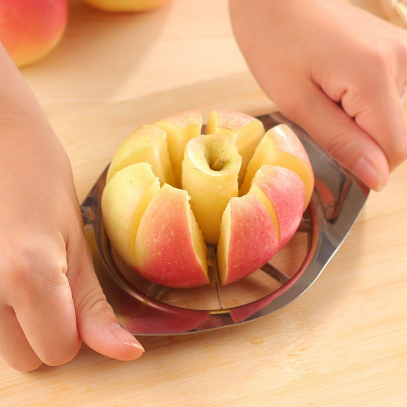 High Quality Stainless Steel Apple Splitters Fruit & Vegetable Tools Holiday Party Multifunction apple cut Fruit Knife Peeler