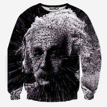 Hoodies Sweatshirts Women Men Assassins Creed Tracksuits 3D Creative Print Great Scientist Einstein Casual Autumn Tops Pullover