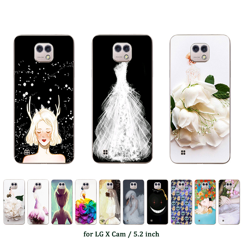 For LG X Cam Case 5.2 Cover Soft Silicone Fundas For LG K580 K580DS Marriage Printed For K580 K580DS 5.2 Phone Cases