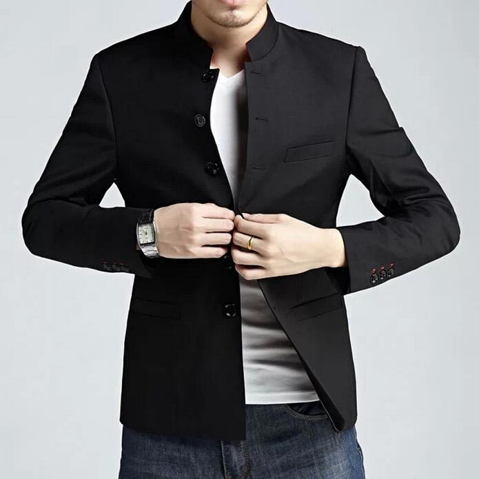 7db2393c5e5ae Crows Zero Japanese Style Uniform Red Stand Collar Slim Fit Mens Tunic Suit  Jackets Free Shipping-in Jackets from Men's Clothing & Accessories on ...