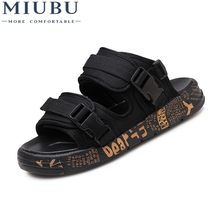 MIUBU Summer Shoes Lovers Leisure Beach Outdoor Sandals Top Quality 2018 New Breathable Cool Walking Men Krasovki Shoes 2017 merrto lovers walking shoes breathable outdoor shoes suede leather for lovers free shipping mt18358 mt18357