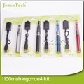 Эго CE4 стартовые наборы электронных кальян CE4 атомайзер 1100 мАч эго-т батареей-лучшая электронная сигарета Vape ручка аккумуляторная кальян ручка