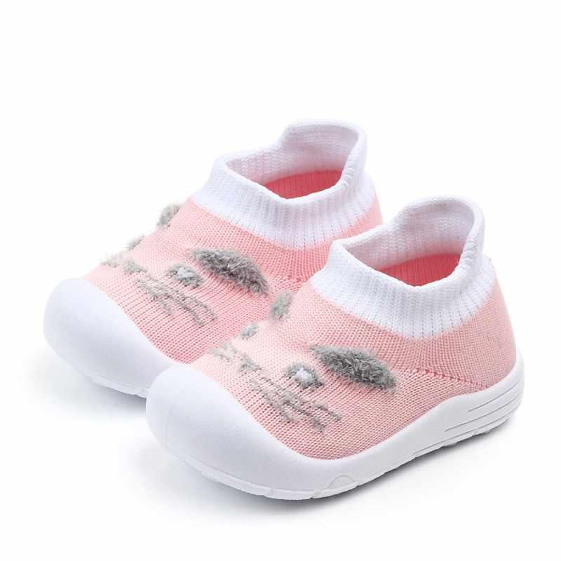חדש קיץ תינוקת ילד אנטי להחליק עיצוב סניקרס פעוט רך סוליות ראשון הליכונים נעלי