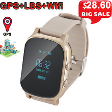 T58 Kids Smart Watch GPS Wifi Smart Tracker Antil-lost Baby Elder Fitness Tracker SOS Children Smartwatch Student Smartwatch.(China)