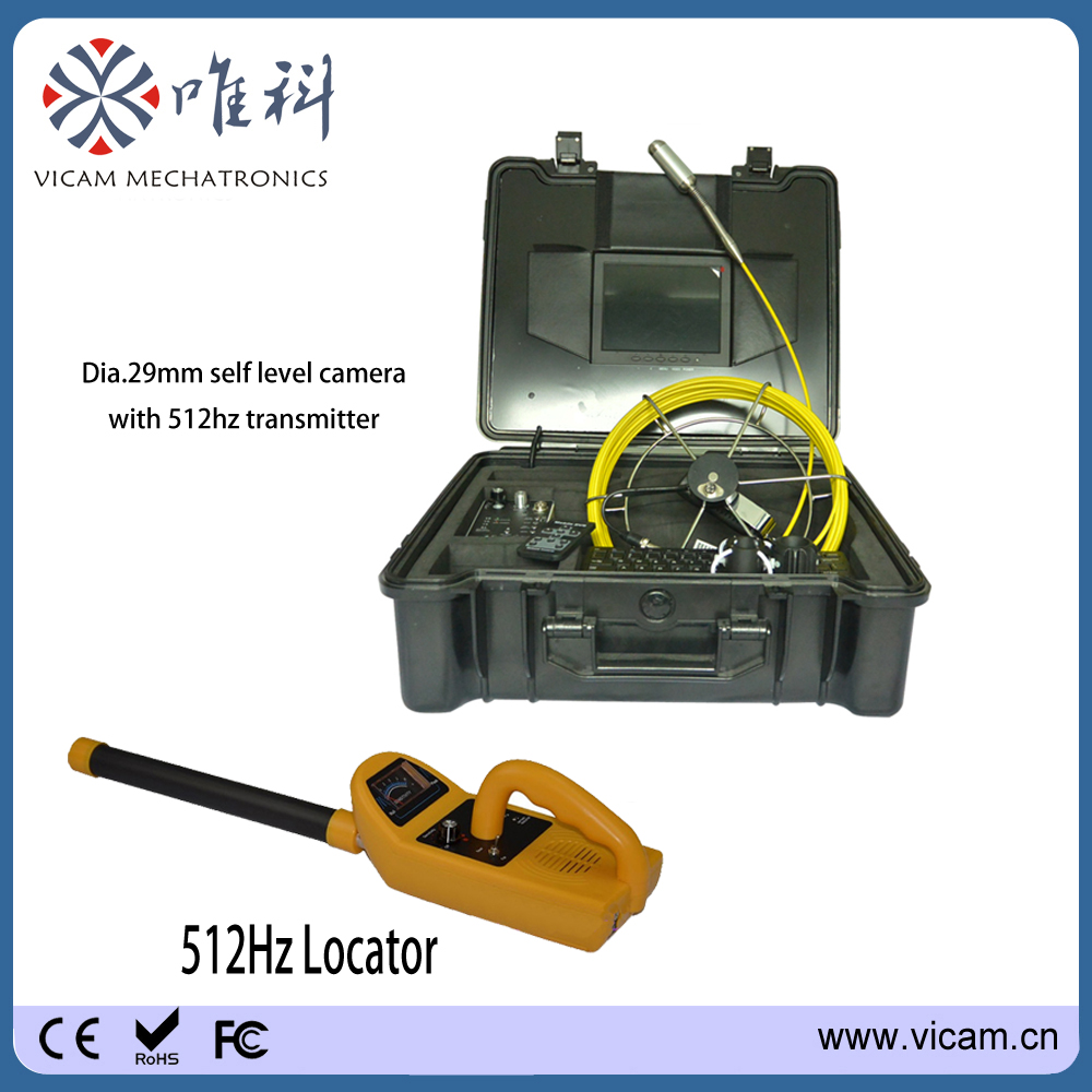 Sewer Camera For Sale >> Us 1415 0 Vicam Mechatronics Pipe Inspection Camera For Sale 30m 100ft Sewer Cameras With 29mm 512hz Transmitter Camera And Pipe Locator In
