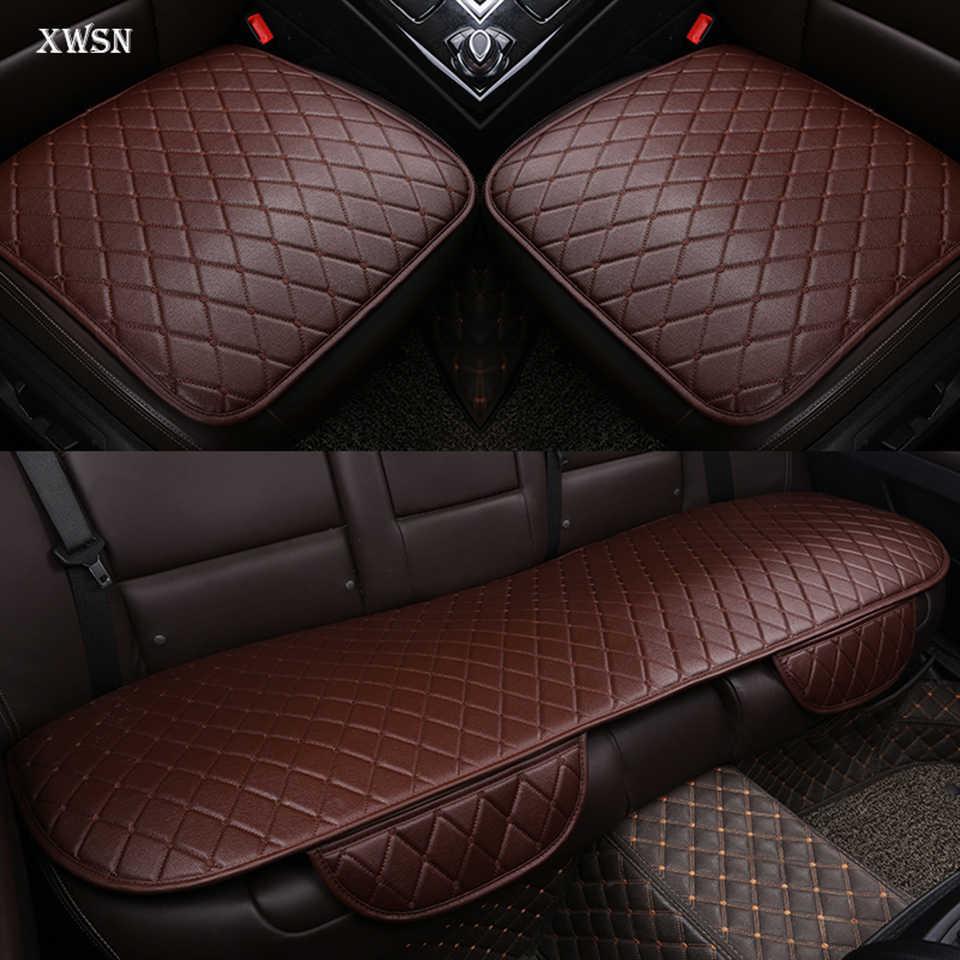 Coussin de siège de voiture universel en cuir artificiel pour accessoires citroën c5 berlingo c4 ds4 housse de siège de voiture accessoires de voiture
