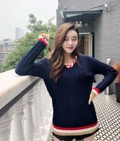 Новинка 2018 Высокое качество модные свитера для подиума летние Для женщин s Роскошные брендовые Женская одежда A08441