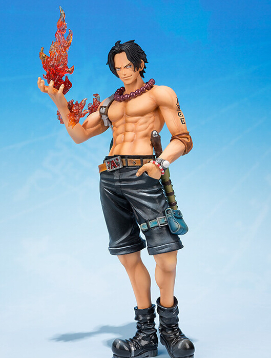 One Piece Figure Portgas D Ace 150mm 5th anniversary PVC Japanese Anime Figures One Piece Ace Action Figures Toys Onepiece Anime