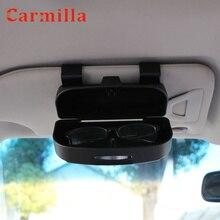 Автомобильные очки солнцезащитные очки держатель Чехол коробка держатель для карт для Honda Fit Civic CRV CR-V вариабельности сердечного ритма HR-V Vezel Accord Jazz City аксессуары