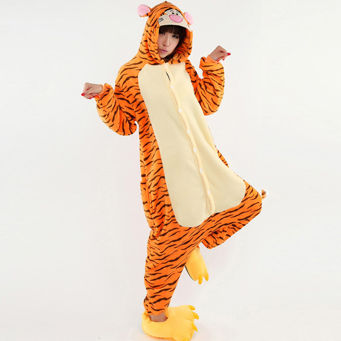 New Tigger Costumes for Women Halloween Pajamas Fancy Animal Onesies for Adults on Aliexpress.com | Alibaba Group  sc 1 st  AliExpress.com & New Tigger Costumes for Women Halloween Pajamas Fancy Animal Onesies ...
