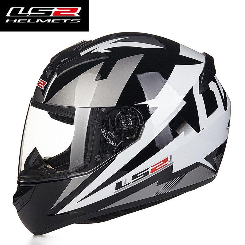 Image 5 - Новое поступление LS2 FF352 мотоциклетный шлем модный дизайн Полный лица гоночные шлемы ECE DOT утвержден Capacete шлем Moto-in Шлемы from Автомобили и мотоциклы