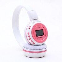 Zealot N65 Mp3 Dijital Kafa Kulaklık FM SD Stereo Müzik Çalar Sd Kart Yuvası ile N65 LCD Ekran USB Kablosu