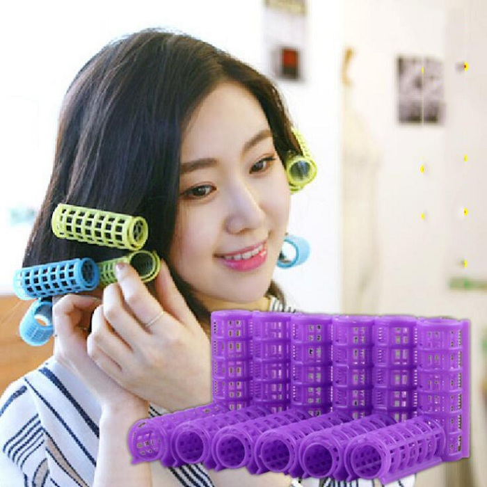 20mm hair curler Roll roller Twist Hair Care Styling stick Roller DIY tools harmless saf ...