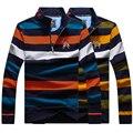 TACE & АКУЛА футболка мужская 2016 популярные длинным рукавом стенд воротник мода вышивка тенденция одежда бесплатно доставка