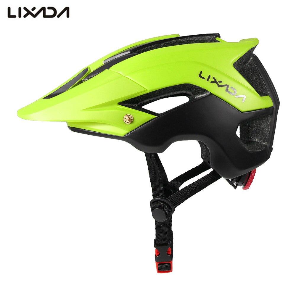 Lixada Unisex  Bicycle Helmet MTB Bike  Road Helmet Capacete EPS 13 Vents  Integrally-molded Cycling Helmet for casco bicicleta