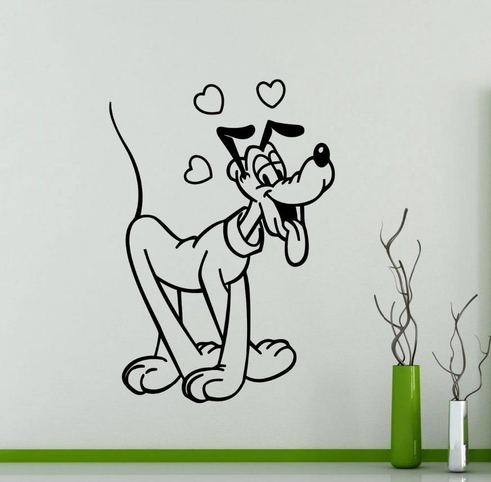 14 56 20 De Reduction Nouveaute Sticker Mural Mickey Mouse Dessin Anime Decor A La Maison Chambre Interieur Art Decoration Enfants Fille Garcon