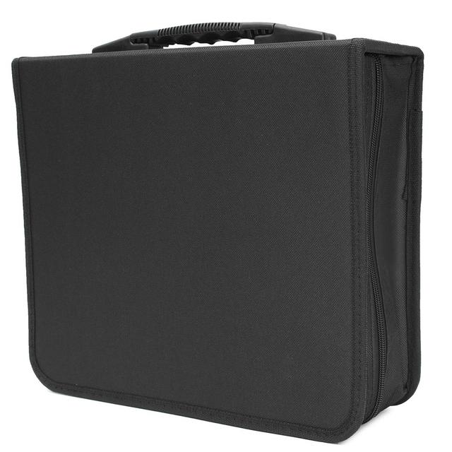Large 288 Disc CD DVD Storage Genuine Leather Case Oxford Cloth Binder Book Sleeves Rack Holder  sc 1 st  AliExpress.com & Large 288 Disc CD DVD Storage Genuine Leather Case Oxford Cloth ...