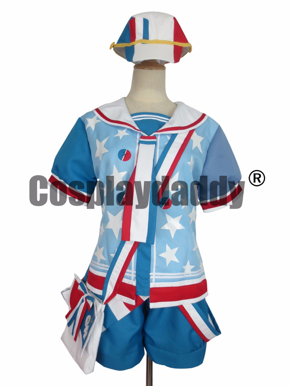 Kagamine Len Cosplay Sailor Summer Set Cosplay Costume