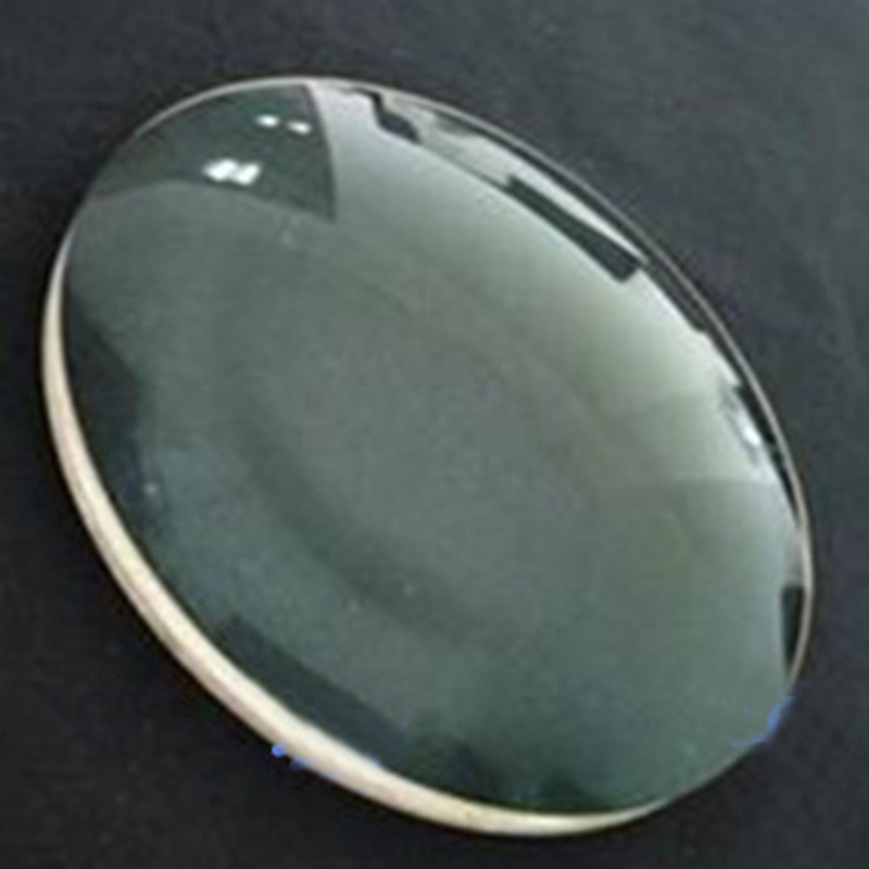 1PC 178mm Large K9 Optical Glass Focal length 319.5mm Magnifying Glass Plano Convex Glass Lens цена
