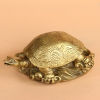 Home decoration Products Copper turtle Money turtle Longevity Turtle Bronze Crafts Feng shui ornaments