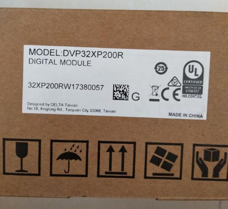 все цены на New Original DVP32XP200R 100-240VAC 16DI 16DO Relay output PLC Digital module ES2 series онлайн