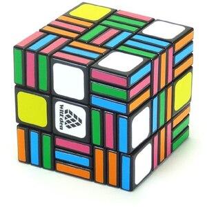 Image 2 - Leadingstar witécia cubo mágico profissional, cubo mágico 3x3x9 de 58mm, aprendizagem anti estresse brinquedos clássicos educativos