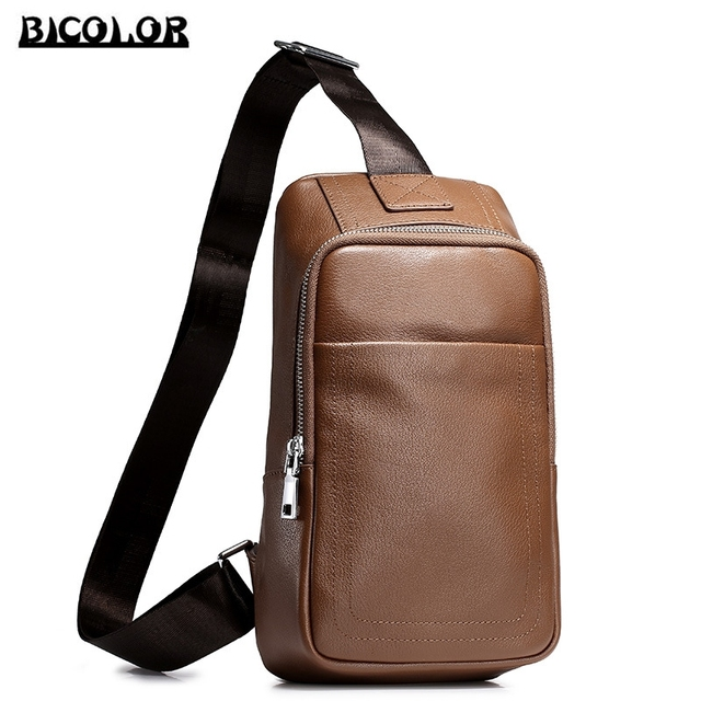 c22679f9ef40 Womens Leather Shoulder Bags 2. Aliexpress.com   Buy BICOLOR Vintage Luxury  Genuine Leather .