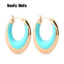Серьги neefu «wofu» для женщин кольцо ушей из цинкового сплава