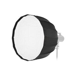 90 см 16 стержней портативный глубокий параболический зонтик софтбокс крепление Студия Вспышка для Aputure COB 120D COB 120t для Godox