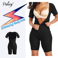 Palicy High Quality Neoprene Body Shaper for Weight Loss Women Tummy Arm Leg Butt Shaper Waist Trainer Bodysuit USPS Dropship