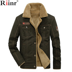 Men Jacket Coats Winter Military