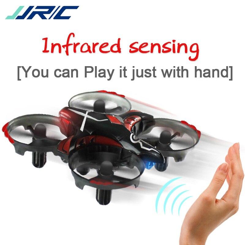 JJRC H56 Upgrade Mini RC Drone Infrared Sensing Dron Mini Helicopter Pocket Drone VS JJRC H36 Best Toys For Kids Gesture Control jjrc h5p transmitter