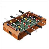 Mini Football Air Hockey Durable Arcade&Table Games Fun for Birthday Holiday Football Desktop double football Table top Soccer