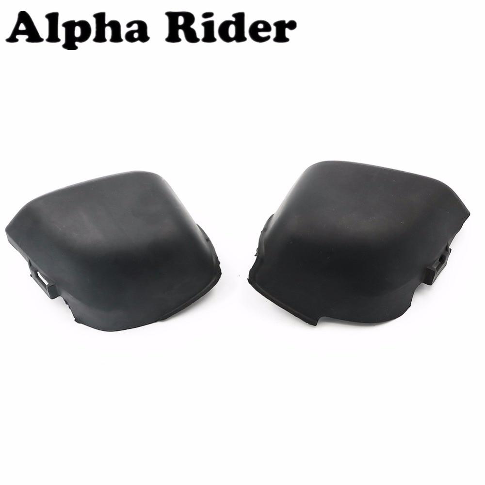 For Honda CB400 VTEC 99-02 Air Filter Cover Carburetor Guard Side Frame Cap Protector ABS Plastic 1999 - 2002 2001 2000 Black