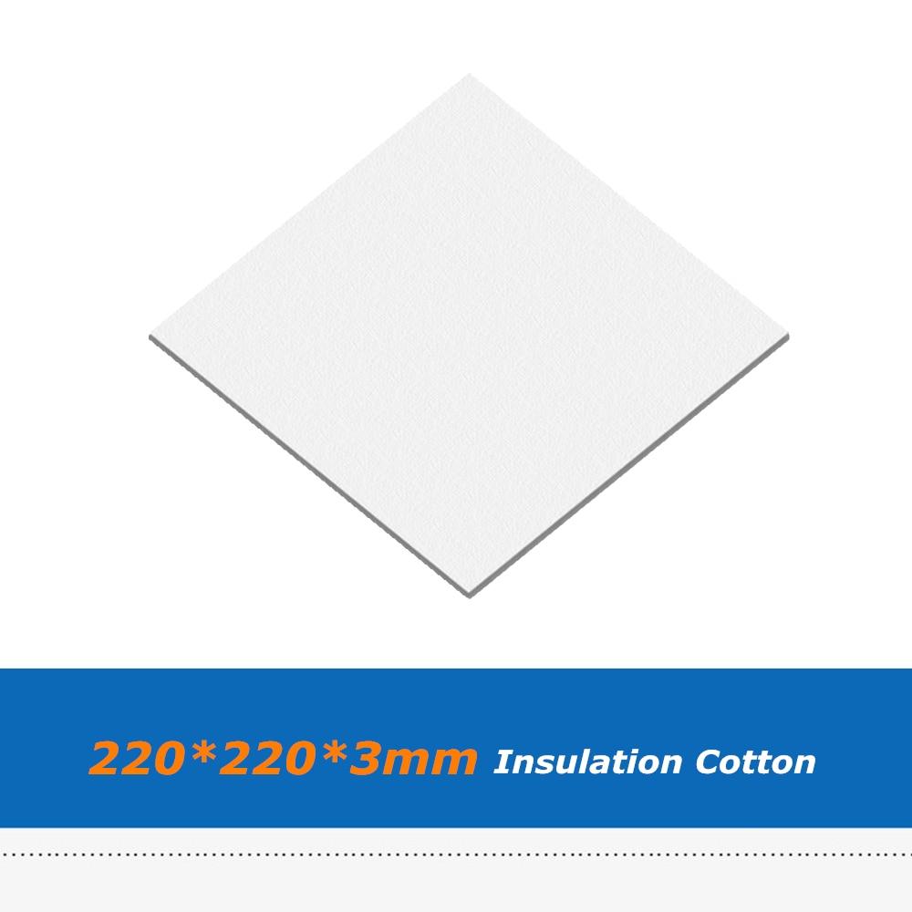 3D Printer Heated Bed Thermal Insulator Cotton Sheet Heat Insulation 200mm//300mm